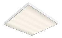 Светильник-панель светодиодная 595x595x40 CBO-37 40W, 2700K тёплый, 3300Lm, накладной/встраиваемый, рассеиватель матовый опал
