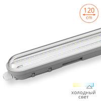 Светильник светодиодный прозрачный рассеиватель LWP36C-02 36W 6500К IP65 2880Lm 1200x66x76mm