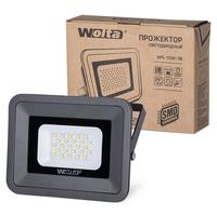 Светодиодный прожектор WFL-20W/06, 5500K, 20 W SMD, IP 65, цвет серый, слим