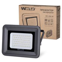 Светодиодный прожектор WFL-30W/06, 5500K, 30 W SMD, IP 65,цвет серый,слим