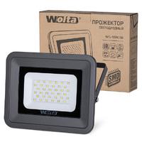 Светодиодный прожектор WFL-50W/06, 5500K, 50 W SMD, IP 65, цвет серый, слим