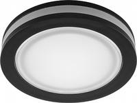 Светодиодный светильник Feron AL600 встраиваемый 7W 4000K черный 29569