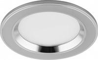 Светодиодный светильник Feron AL610 встраиваемый 7W 4000K хром 28910