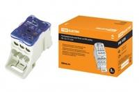 TDM Распределительный блок на DIN-рейку РБ-125 1П 125А (1x35+1x16/6x16) SQ0823-0002