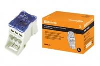 TDM Распределительный блок на DIN-рейку РБ-160 1П 160А (1x70+1x16/6x16) SQ0823-0003