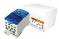 TDM Распределительный блок на DIN-рейку РБ-250 1П 250А (1x120/2x35+5x16+4x10) SQ0823-0004