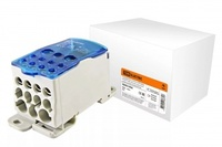 TDM Распределительный блок на DIN-рейку РБ-500 1П 500А (плоские шины от 3х15 до 8x24/2x35+5x16+4x10) SQ0823-0006