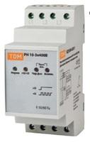TDM Реле напряжения 3фазное серии РН 02-3x400V SQ1504-0007