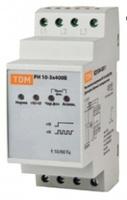 TDM Реле напряжения 3фазное серии РН 05-3x400/230V SQ1504-0009