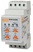 TDM Реле напряжения 3фазное серии РН 08-3x400V SQ1504-0010