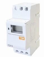 TDM Таймер электронный на рейку DIN ТЭ15-1мин/7дн-16on/off-16A-DIN SQ1503-0005
