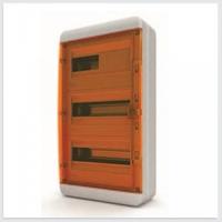 Tekfor бокс навесной 36 мод. IP65, прозрачная оранжевая дверца BNO 65-36-1