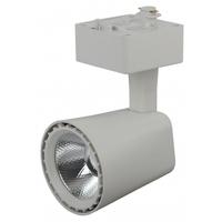 Трековый светильник 10Вт белый COB TR4-10 WH