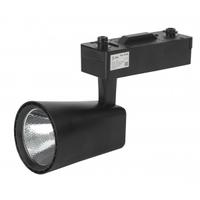Трековый светильник 20Вт черный COB TR4-20 BK