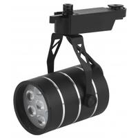 Трековый светильник 7Вт черный SMD TR3-7 BK