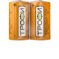 Трофи батарейка солевая R14 C 1.5V