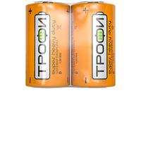 Трофи батарейка солевая R20 D 1.5V
