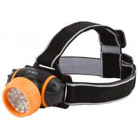 Трофи фонарь налобный, светодиодный GB-302, 7xLED, 3хААА, Б0036617