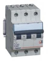 Legrand TX3 Автоматический выключатель 3/10А 404054