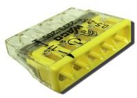 WAGO клемма без пасты на 5 проводов плоская 2273-205 (100шт)