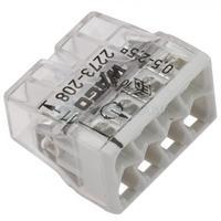 WAGO клемма без пасты на 8 проводов плоская 2273-208 (50шт)