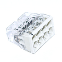 WAGO клемма с пастой на 8 провода 2273-248 (50шт)