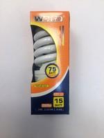 Wolta лампа энергосберегающая спираль Е27 15W 850Лм 2700K 10YFSP15E27