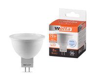 WOLTA Лампа светодиодная LED 25SMR16-220-8GU5.3 4000K