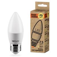 WOLTA Лампа светодиодная LED 25YC7.5E27-P 3000K теплый белый свет