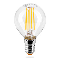 WOLTA Лампа светодиодная LED FILAMENT 25Y45GLFT7E14, 3000К теплая